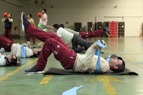 salud física trabajo